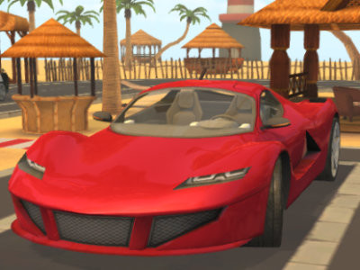 Parking Fury 3D: Beach City oнлайн-игра