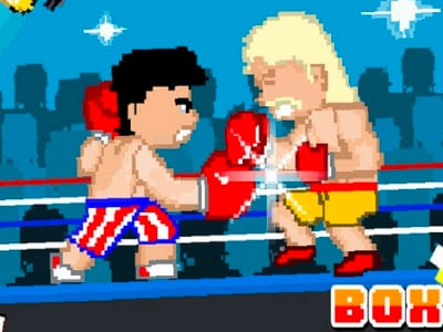 Boxing fighter : Super punch online hra