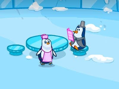 Penguin Cafe online game