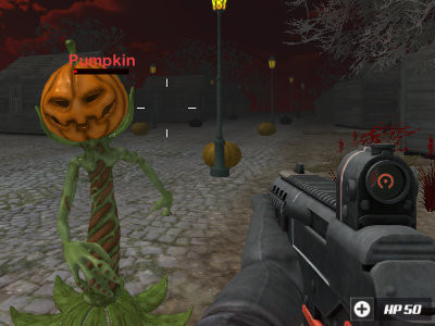 Masked Forces: Halloween Survival online game