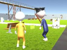 Stickman Adventure: Prison Jail Break Mission online hra