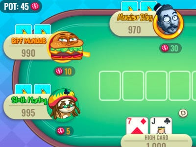 Banana Poker online game