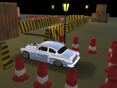 Classic Car Park online game
