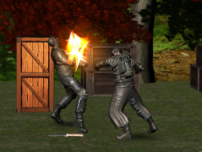 Realistic Street Fight Apocalypse online game