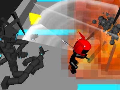 Stickman Sword Fighting 3D online hra
