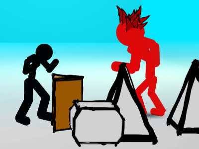 Stickman Street Fighting online game