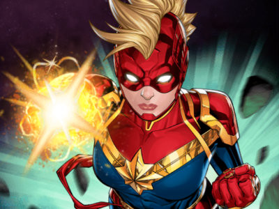 Captain Marvel: Galactic Flight online hra