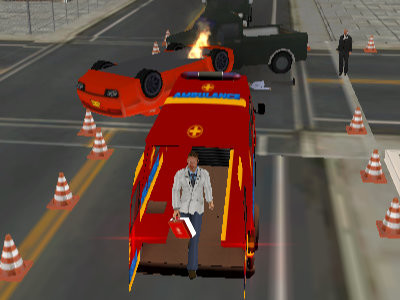 Ambulance Rescue Driver 2018 oнлайн-игра