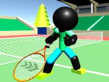 Stickman Tennis 3D online hra