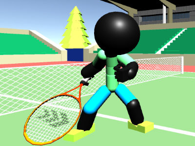 Stickman Tennis 3D online game