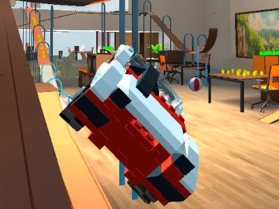 Le Go Car Crash Micromachines Online oнлайн-игра
