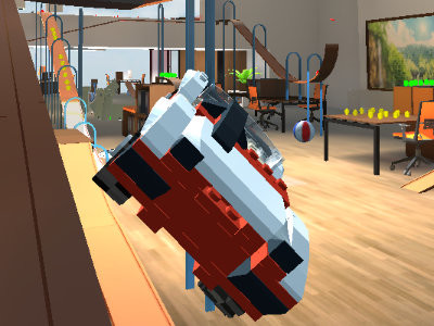 Le Go Car Crash Micromachines Online online hra