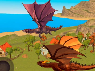 Dragon Simulator 3D online hra