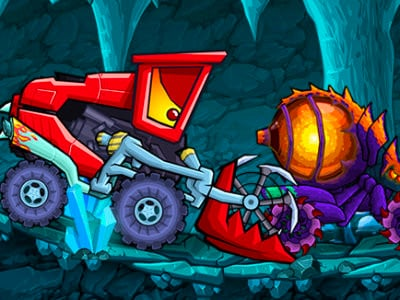 Car Eats Car: Dungeon Adventure online game