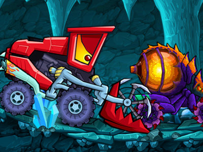 Car Eats Car: Dungeon Adventure oнлайн-игра