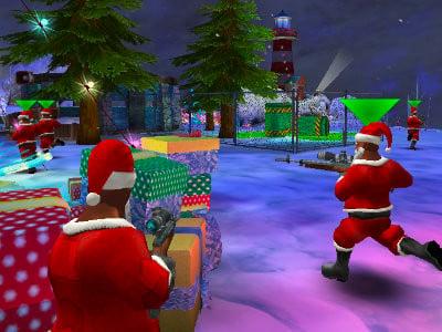 Winter Clash 3D online hra