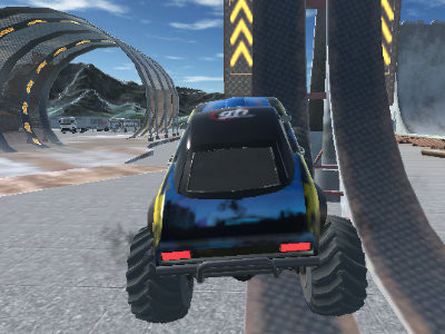Crazy Car Stunts online game
