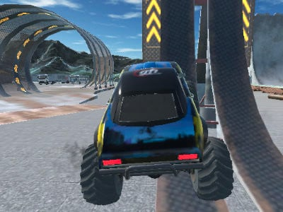 Crazy Car Stunts online hra