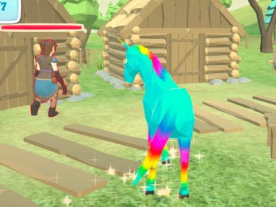 Unicorn Family Simulator online game