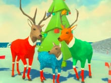 Deer Simulator Christmas online game