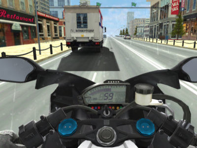 Moto Road Rash 3D online game