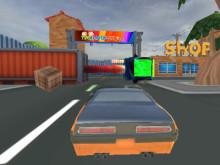 Cartoon Stunt Car