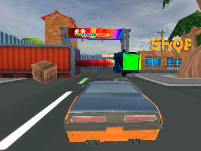 Cartoon Stunt Car online hra