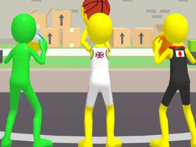 Five Hoops online game