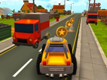 Cartoon Hot Racer 3D online game