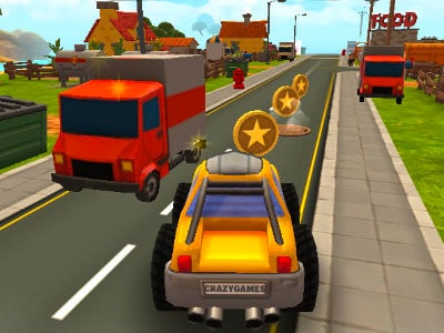 Cartoon Hot Racer 3D oнлайн-игра