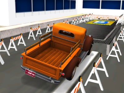 Warehouse Truck Parking oнлайн-игра