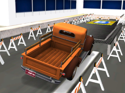 Warehouse Truck Parking online game