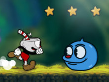 Cuphead Rush online hra