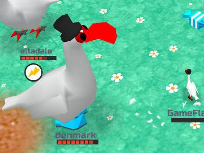 GooseGame online hra