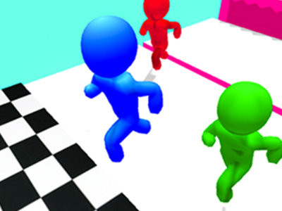 Stickman Race 3D online game