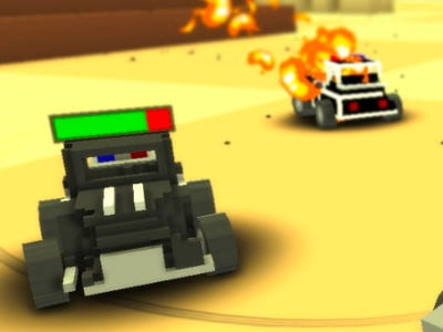 Blocky Demolition Derby online hra