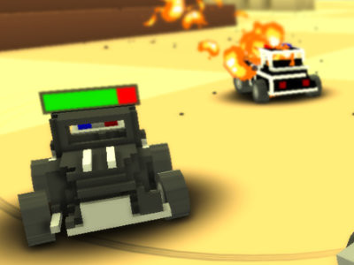 Blocky Demolition Derby online game
