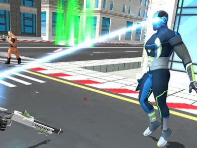 Iron Superhero online game
