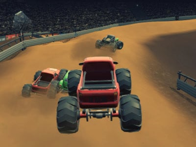 Monster Truck Racing Arena oнлайн-игра