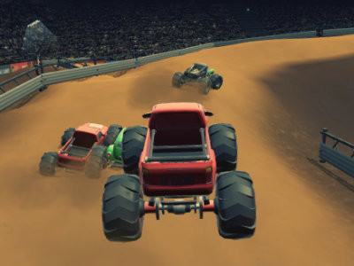 Monster Truck Racing Arena online hra
