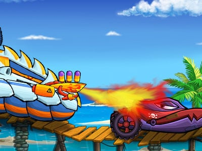 Car Eats Car: Sea Adventure oнлайн-игра