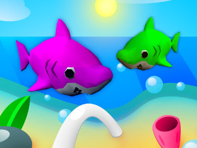 BabyShark oнлайн-игра