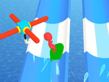 Water Race 3D online game