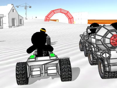 Stickman Car Racing online game