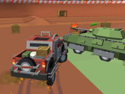 Pixel Car Crash Demolition online game
