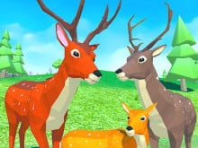 Deer Simulator: Animal Family 3D online hra