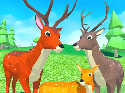 Deer Simulator: Animal Family 3D online game