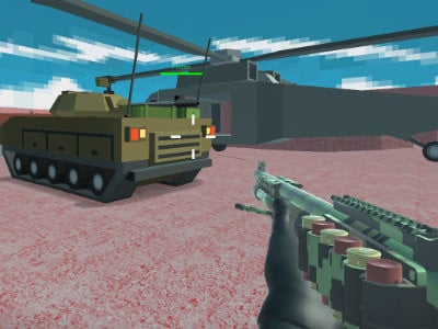 Helicopter and Tank Battle: Desert Storm online game