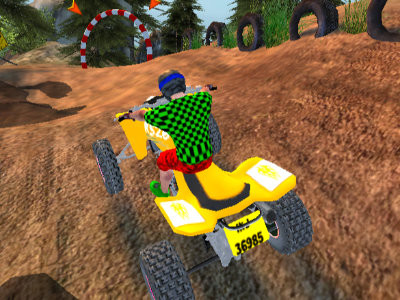 Quad Bike Offroad Racing online game