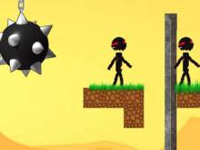 Stickman vs Stickman 2 online hra